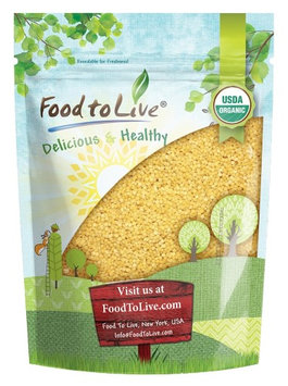 Organic Whole Wheat Couscous by Food to Live (Non-GMO, Bulk) (3 Pounds)