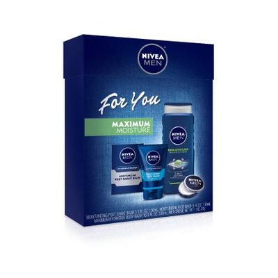 NIVEA 4 Piece Max Moisture Gift Set for Men