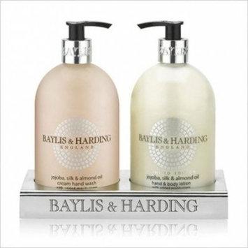 Baylis & Harding Jojoba, Silk and Almond Oil 2 - Bottle Set by Baylis & Harding (English Manual)