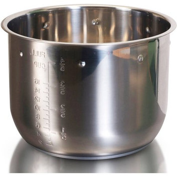 Hsn.com Elite Stainless Steel Cooking Pot for 8qt Pressure Cookers