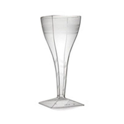 Fineline Settings 1208 Wavetrends 8 oz Clear Wine Glass