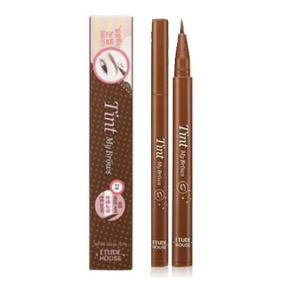 (3 Pack) ETUDE HOUSE Tint My Brows Liquid Eyebrow - Natural Brown