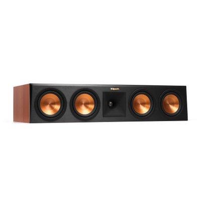 Klipsch RP-450C Reference Premiere Center Channel Speaker with Quad 5.25 inch Cerametallic Cone Woofers - Each (Cherry)