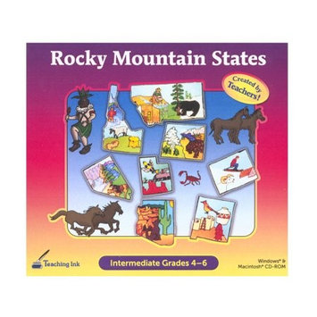 Selectsoft Publishing Selectsoft Rocky Mountain States Grade 4-6 - Created by Teachers! Activity Electronic Book