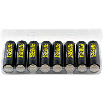 Precharged Rechargeable AA NiMH Batteries (1.2V, 2600mAh) - 8-Pack