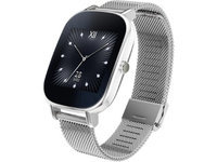 ASUS ZenWatch 2 - Silver Case with Silver Metal Band, 1.45