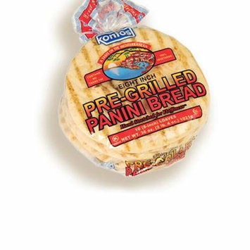 Kontos Pre-Grilled Panini Bread 8'' (10 Pieces)
