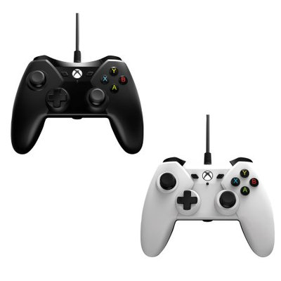 2 Pack PowerA Wired Controller For Xbox One - Black/White