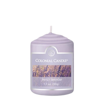 Classic Wax CC015.1342 Votive French Lavender Candles Pack of 18
