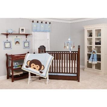 Pam Grace Creations Maddox Monkey Mix & Match 10 Piece Crib Bedding Set