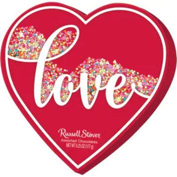 Russell Stover Confetti Heart, 6.25 OZ