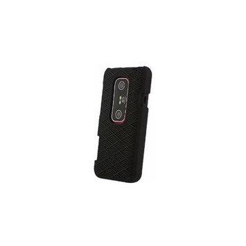 OEM Original HTC Tatami Hard Shell Case 70H00426-02M for HTC EVO 3D - Black