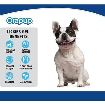Orapup Bad Breath System for Dogs Natural Bad Breath Fighting Enzymes- Reduces Plaque & Tartar Buildup- Fresh Breath, No Brushing- Dogs Love Taste