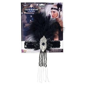 Halloween Flapper Deluxe Adult Headband