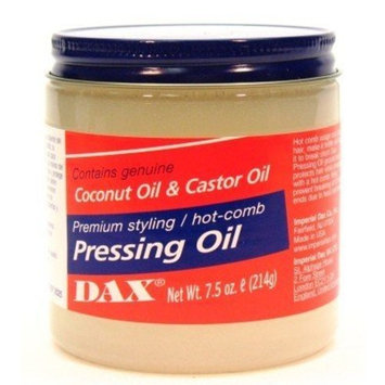 Dax Pressing Oil 7.5 oz. Jar (3-Pack) with Free Nail File