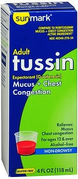 Sunmark Tussin Cough Syrup