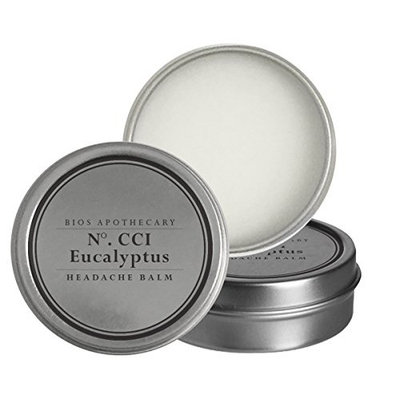 Headache Aromatherapy Balm - Helps Soothe Tension, Migraines, and Anxiety - With Eucalyptus Essential Oil [Eucalyptus]