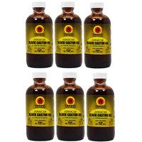 Tropic Isle Living Jamaican Black Castor Oil 4oz'Pack of 6' w/Free Applicator
