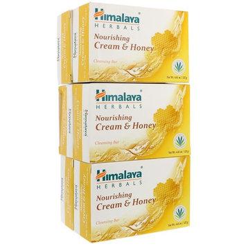 Himalaya, Nourishing Cleansing Bar, Cream & Honey, 6 Bars, 4.41 oz (125 g) Each