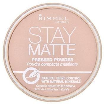 Rimmel London Stay Matte Long Lasting Pressed Powder - 002 Pink Blossom by Rimmel