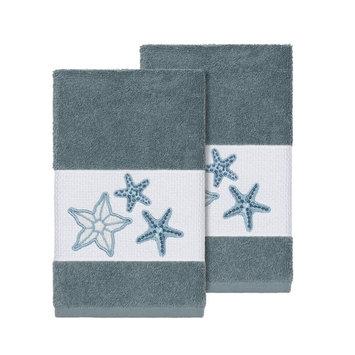 Lydia 2-Pc. Embellished Hand Towel Set