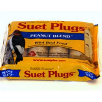 Wildlife Sciences Peanut Blend Suet Plug 11 oz + Freight West of Rockies Only