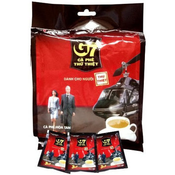 G7 3-in-1 Instant Coffee, 3-in-One 50 Sachets [50 Servings Regular Flavor]