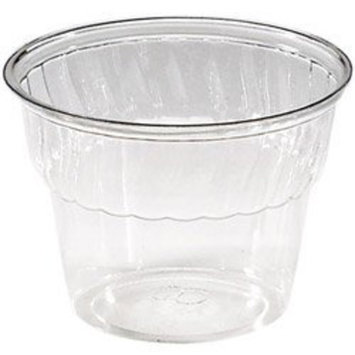 WNA Comet 8 Oz Cold Plastic Dessert Cup, Clear, Pack of 1000 (04-0524) Category: Plastic Cups