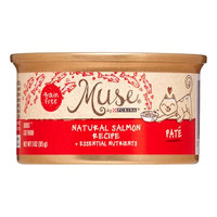 Muse by Purina Natural Salmon Recipe Cat Food, 3 oz.