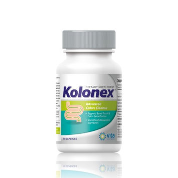 Vitasciences KOLONEX Advanced Colon Cleanser & Detox. 14 Day Cleanse System. Promote Weight Loss, Bloat-less and increased energy levels with specialized fibers and probiotic. Flush toxins. Safe & Effective