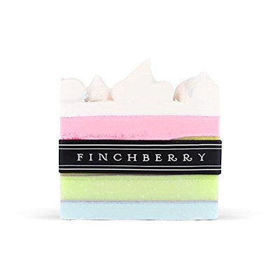 FinchBerry Darling Soap - Handcrafted Vegan Soap - Aromas of Cherry Blossom, White Lily, Violet, and Vanilla | 1 Bar