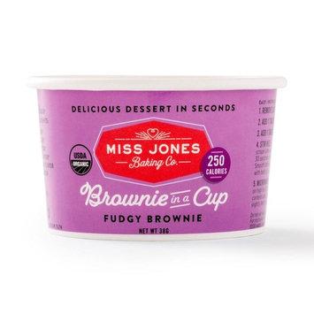 Miss Jones Baking Organic Brownie In A Cup, Fudgy Brownie