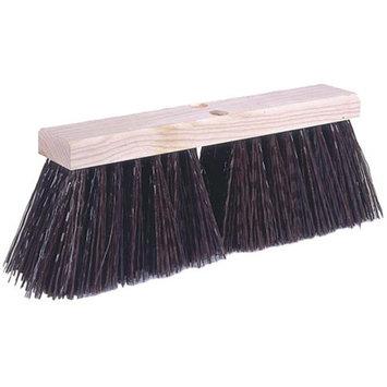 Weiler 42174 24 Street Broom, 5-1/4 Trim, Brown Polypropylene Fill