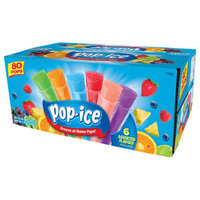 Jel Sert Company Pop-Ice Assorted Flavors Freezer Pops, 1.5 oz, 80 count