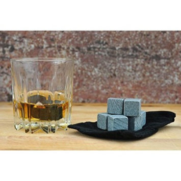 Whiskey Stones-Set of 9 Sipping Stones of Pure Soapstone-Gift Set