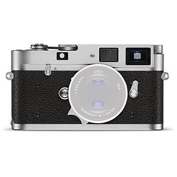 Leica M-A (Typ 127) Rangefinder Camera, 35mm Film Format, 0.72x Bright Line Viewfinder, 1-1/1000 sec. Shutter Speed, Flash Sync at 1/50 Sec, Silver