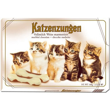 Cat Tongues - Marbled Chocolate (3.5 ounce)