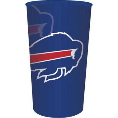 Hoffmaster Group 119504 20 by 1 Count Buffalo Bills 22 oz Plastic Favor Cup - Case of 20