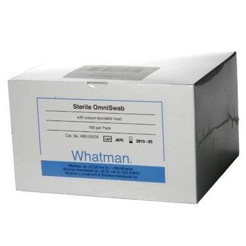 Whatman WB100035 Omni Swab Pack Buccal Swab Sterile (Pack of 100)