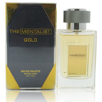 The Mentalist Gold MSCENTSTORYMENTGOLD1 1.7 oz Eau De Toilette Spray for Men