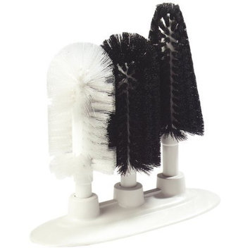 Carlisle 4150600 Sparta Pilsner, Hurricane, & Standard Style Triple Glass Washer, 9-1/2