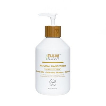 Raw Sugar Hand Wash Sensitive Skin Almond + Manuka Honey