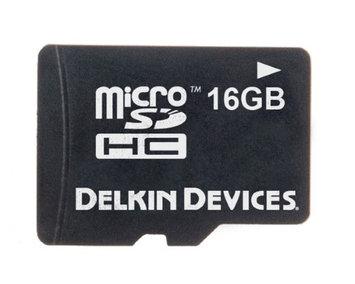 Delkin 16GB Micro SDHC / Transflash Memory Card