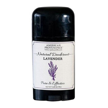 American Provenance 232417 2.65 oz Natural Lavender Deodorant