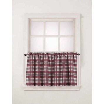 S. Lichtenberg & Co. Dawson Window Valance/Kitchen Curtains, Set of 2/Swags