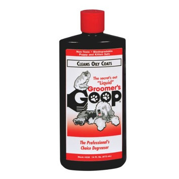 GROOMER'S GOOP for Oily Coats 16 oz. Bottle