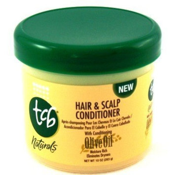 TCB Naturals Hair & Scalp Conditioner 10 oz. Jar with Free Nail File by Tcb