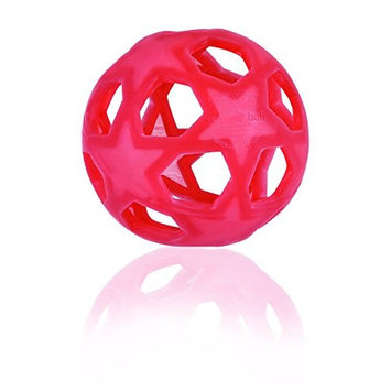 HEVEA Star Ball Raspberry red