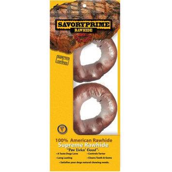 Savory Prime Donut Shape Natural Rawhide Bones (905)