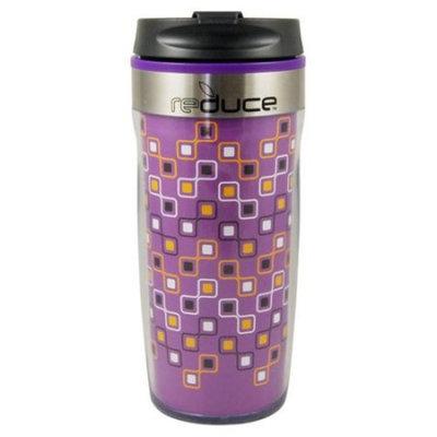 Reduce Dash 16 oz Purple Abstract Tumbler